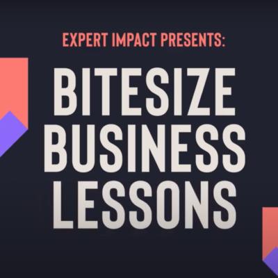 Bitesize Business Lessons